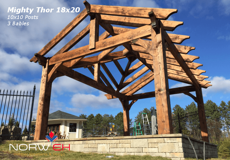 Mighty Thor 3G 14x20 Rafters